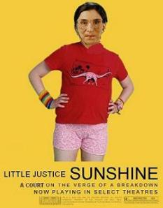 Ruth Bader Ginsburg cheerleader beauty queen Little Miss Sunshine